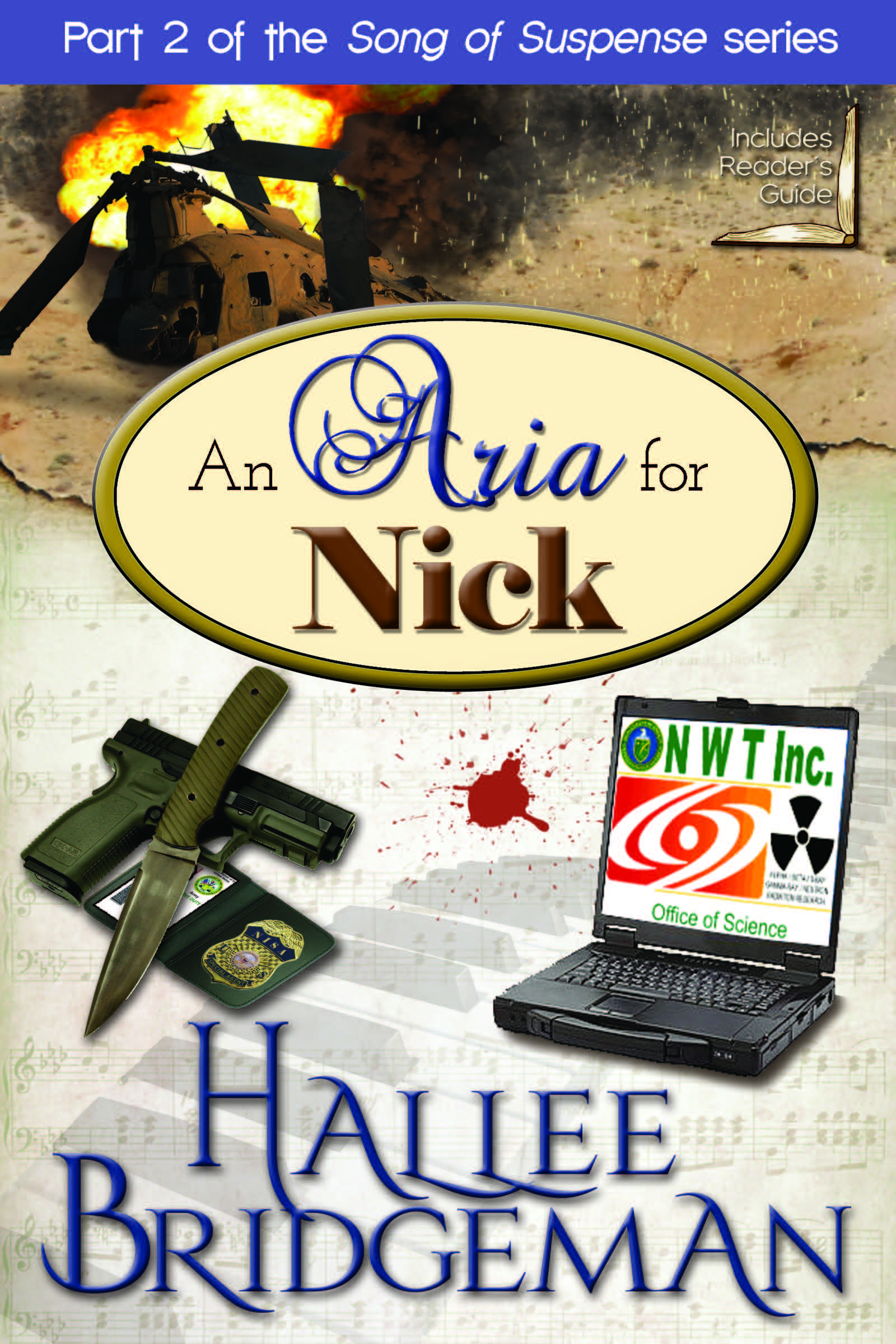 An Aria for Nick: Book Cover Reveal