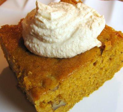 Wonderful Honey Pumpkin Cake
